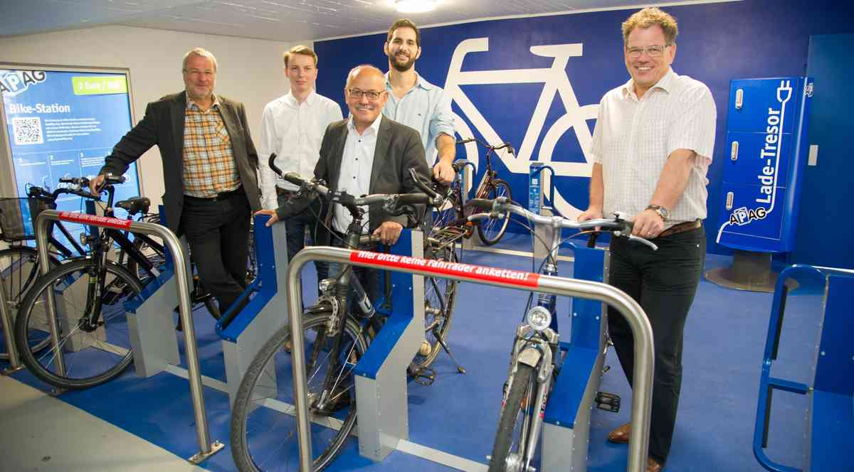 APAG introduces bike parking as a service in Aachen