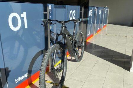Bikeep smart bike lockers in Andorra