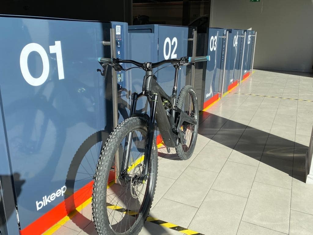 Bikeep smart bike lockers in Andorra