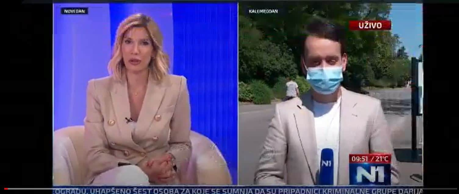 bikeep belgrade tv broadcast