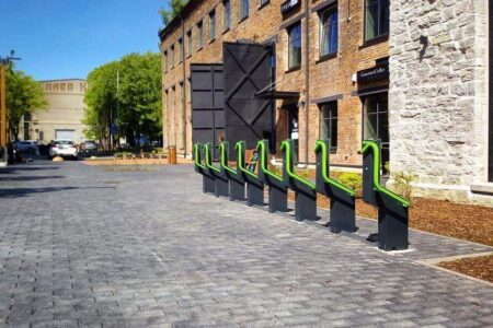 Bike parking places for small businesses
