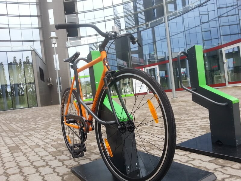 Bike Racks for Office Buildings
