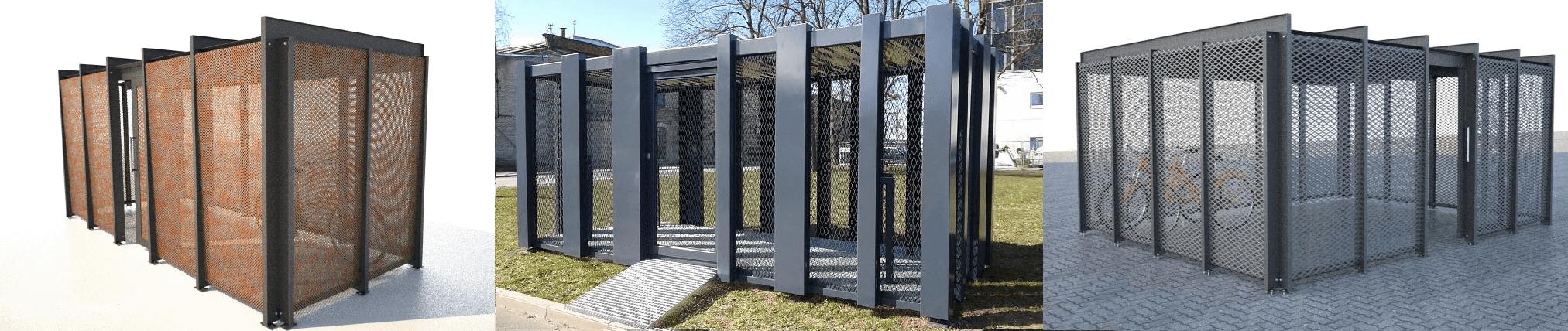 Secure Bike Storage Sheds   Glass, Wooden & Metal