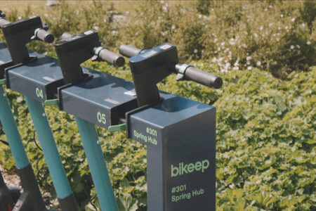 Bikeep scooter station (11)