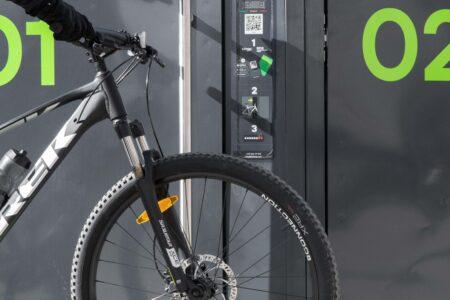 Bikeep smart bike lockers SL (1)