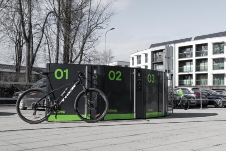 Bikeep smart bike lockers SL (2)