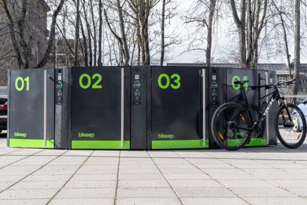 Bikeep smart bike lockers SL (3)