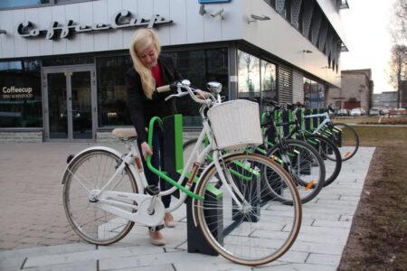 Easy to use bike racks
