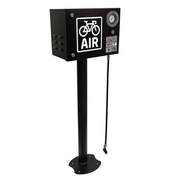 Electric public Bicycle pump
