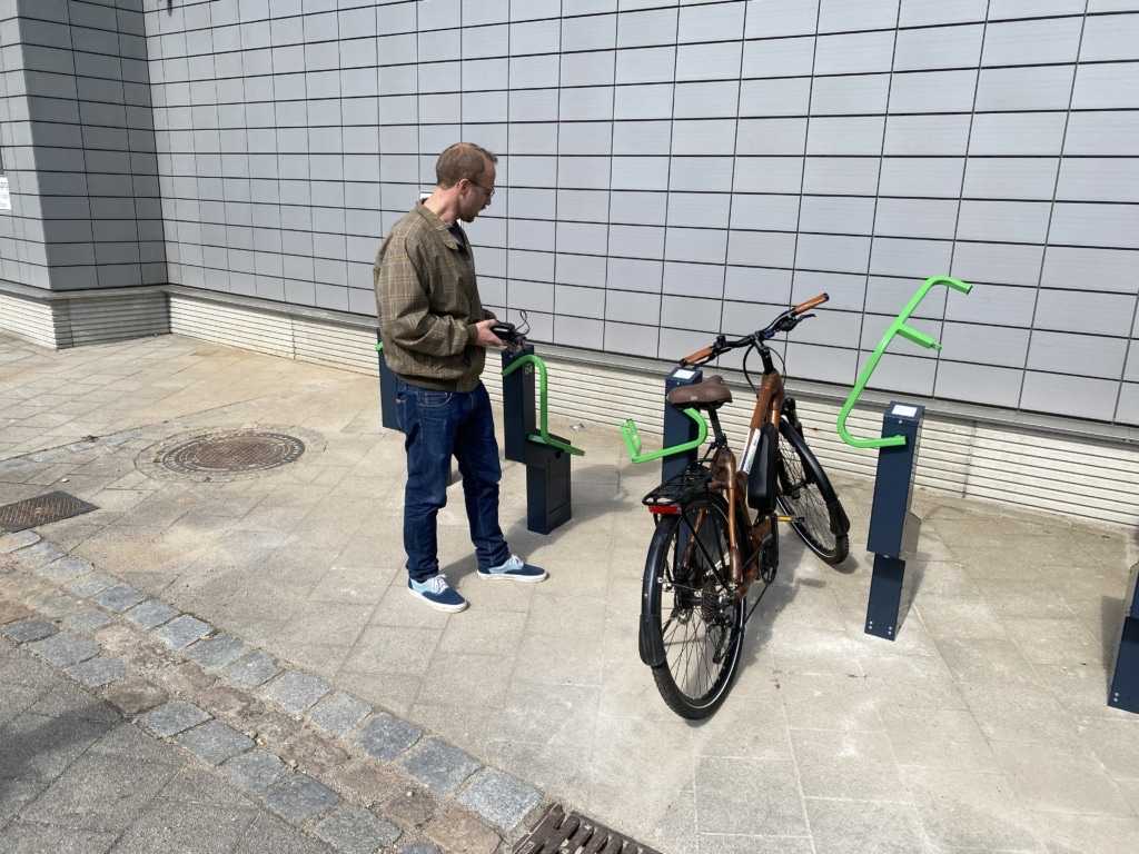 bikeep bike stations in germany kiel