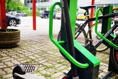 Kickbike smart parking