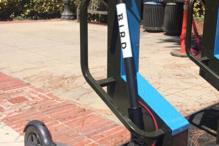 Kickbike safe parking