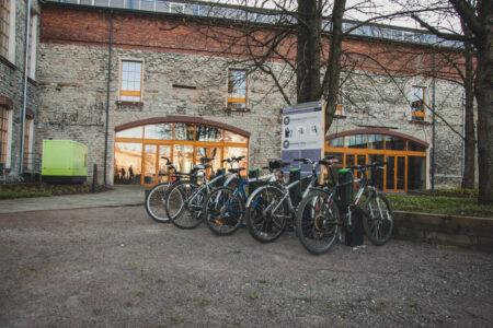 Modern and secure bike rack