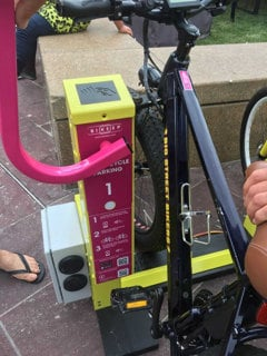 Bikeep launched electric bike charging for smart bicycle racks