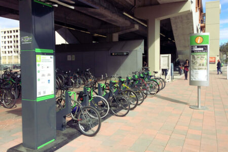 Outdoor bike storage solutions for city