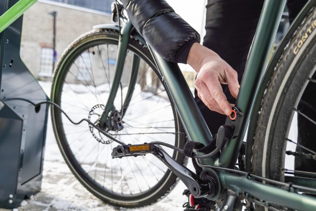 bikeep ebike charging