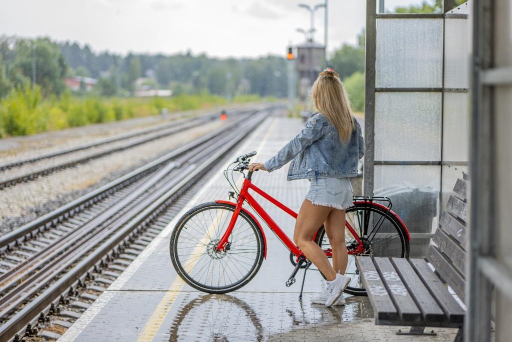 bikeep in transit station