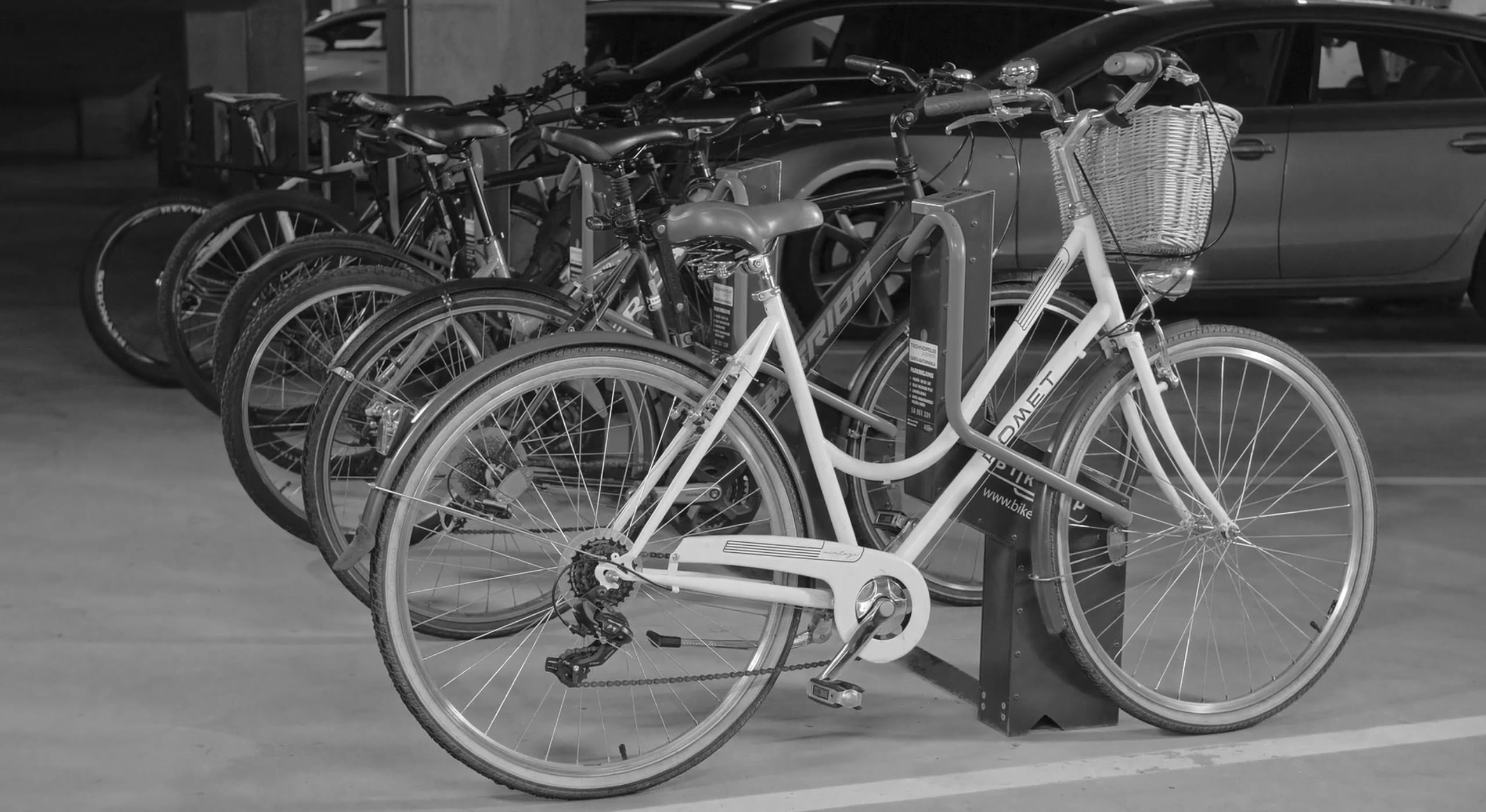 FABB covers the new bike parking option at Reston Town Center