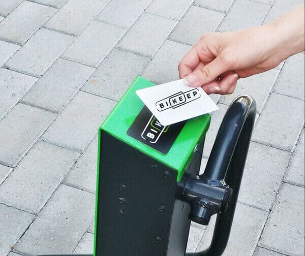 rfid card reader with bike stock