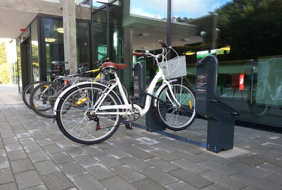 Safe Bike Racks for Banks