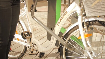 Smart Bicycle Rack - video image