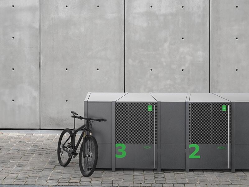 Smart Bike Lockers