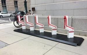 Washington DC bike rack