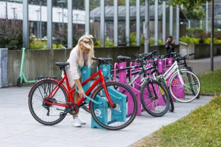 Bikeep station comes with e-bike charging